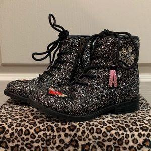 Nina Toddle Girl Size 12 Combat Boot